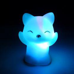 7 Couleurs Changeantes LED Nuit Lumière Renard En Forme LED Night Light Party Décoration de La Maison Lampe Veilleuse Grand Cadeau Pour Les Enfants