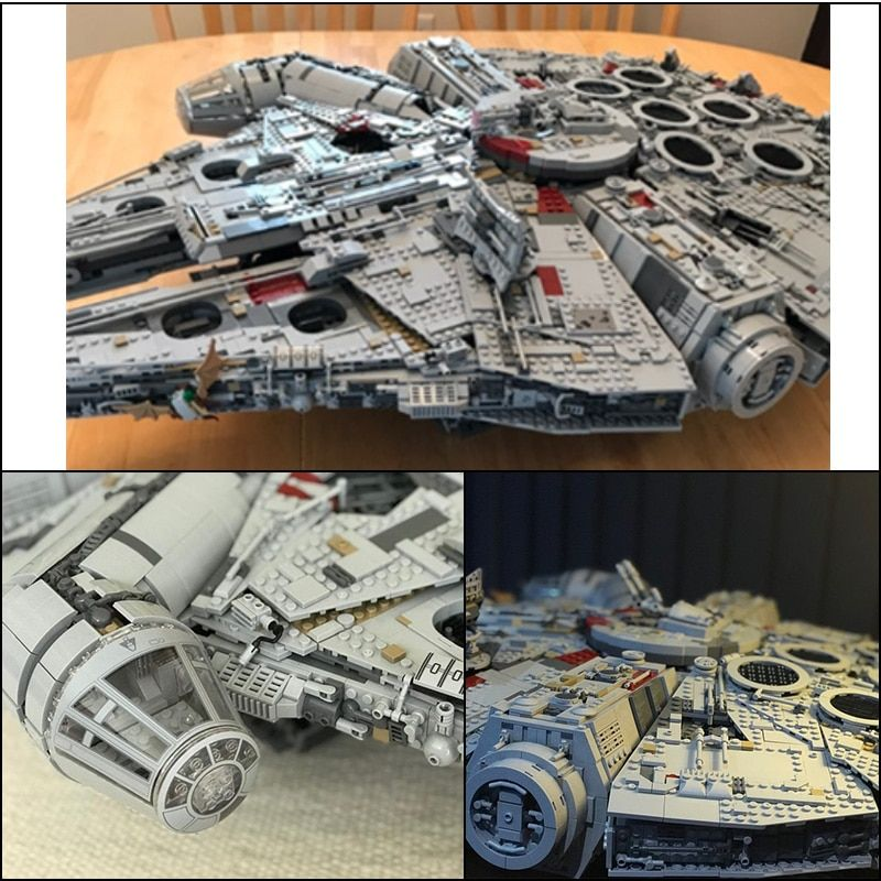 LEPIN 05132 8445pcs Ultimate Collector's Destroyer Star Series Wars Building Blocks Bricks Toys For kids gifts legoINGly 75192