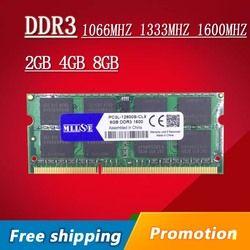 Vente 2 gb 4 gb 8 gb DDR3 1066 1333 1600 1600 mhz 1333 mhz 1066 mhz SO-DIMM DDR3L sdram DDR3 4 GB Mémoire Ram Memoria Pour Ordinateur Portable Portable