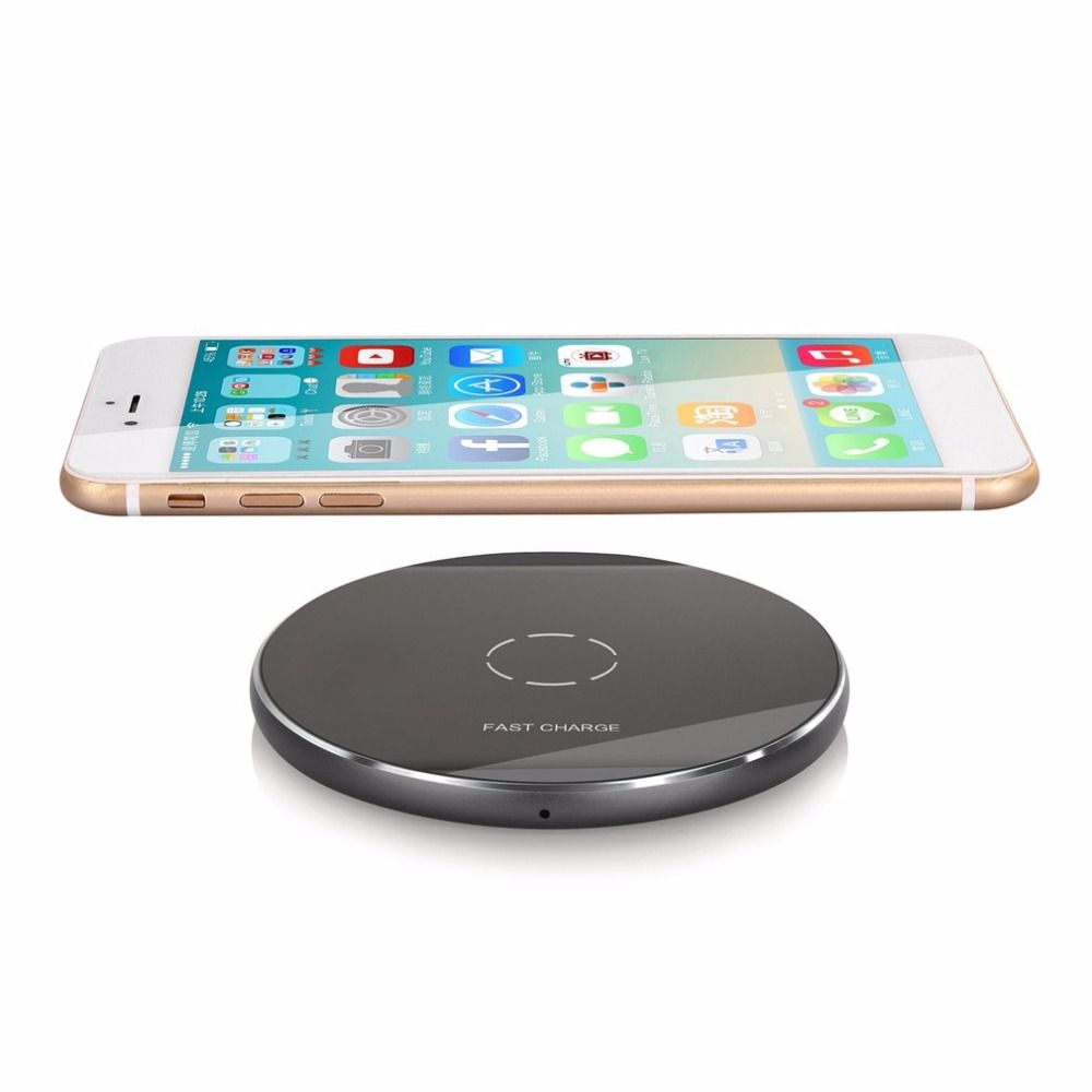For iPhone 8 Wireless charger 2A ONLENY metal Original Qi Wireless Charger charging pad for Samsung Galaxy S8 wireless devices