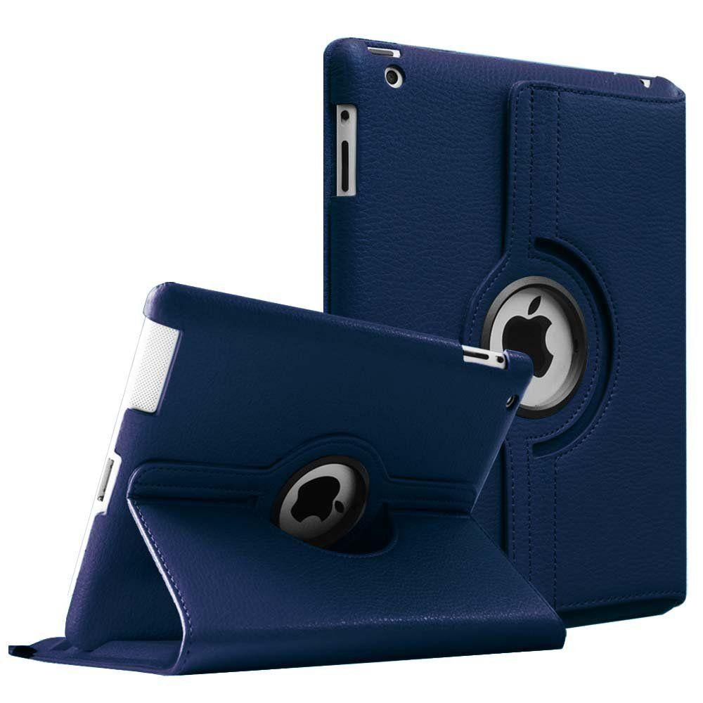 Étui pour Apple iPad 2/3/4 magnétique Auto réveil sommeil Flip Litchi PU étui en cuir housse avec support intelligent pour iPad 2/3/4