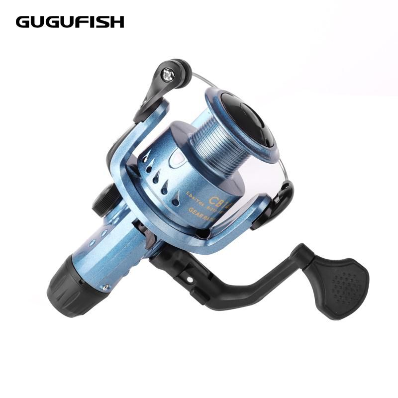 GUGUFISH Fishing Reels Spinning wheel Right and left hand interchangeable Metal Spool Long Distance Throwing