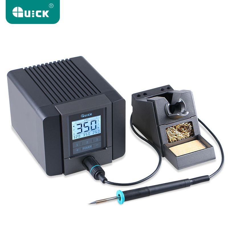 SCHNELL TS1200A Beste Qualität blei-freies löten station elektrische eisen 120 watt anti-statische löten 8 sekunde schnelle heizung Schweißen