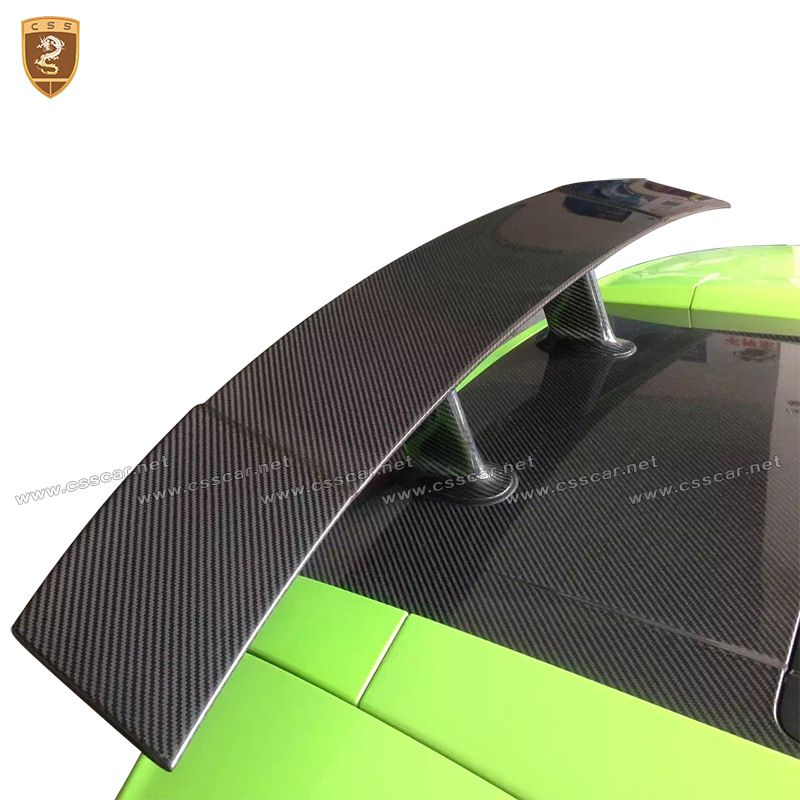 Carbon Fiber Rear Spoiler Rear GT Wing For Lamborghini Gallardo LP550 LP560 LP570 2004 2005 2006 2007 2008 2009 2010 2011 2012
