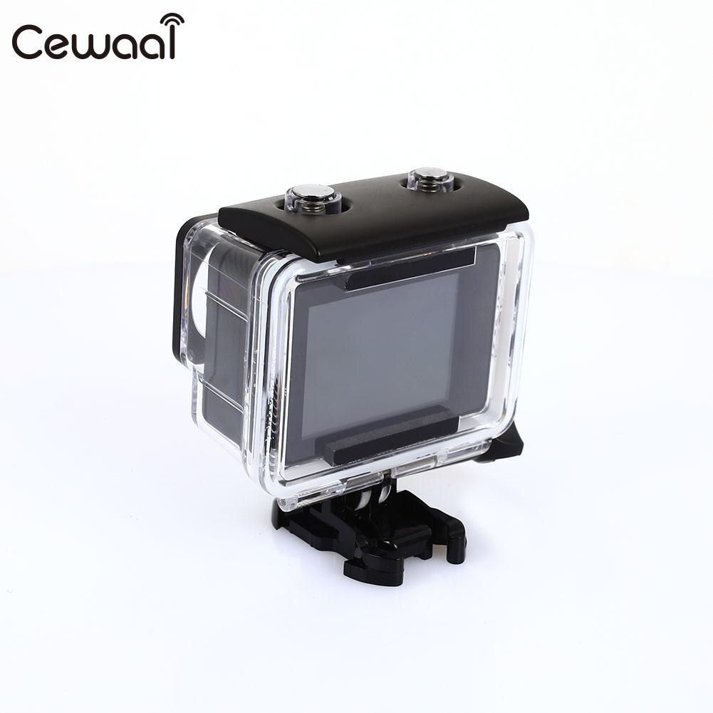 Cewaal 4K 2LTPS Touch Screen Extreme Sport Waterproof Camera Waterproof Sports DV Ultra Hiking Action Camera Outdoor