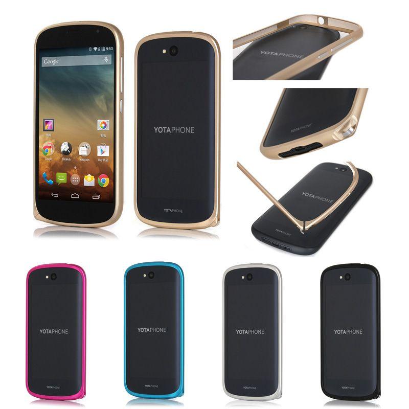 Yotaphone 2 boîtier en métal avec boucle de protection pour téléphone egr 2 sans vis cadre de téléphone portable en aluminium Ultra mince 7 couleurs