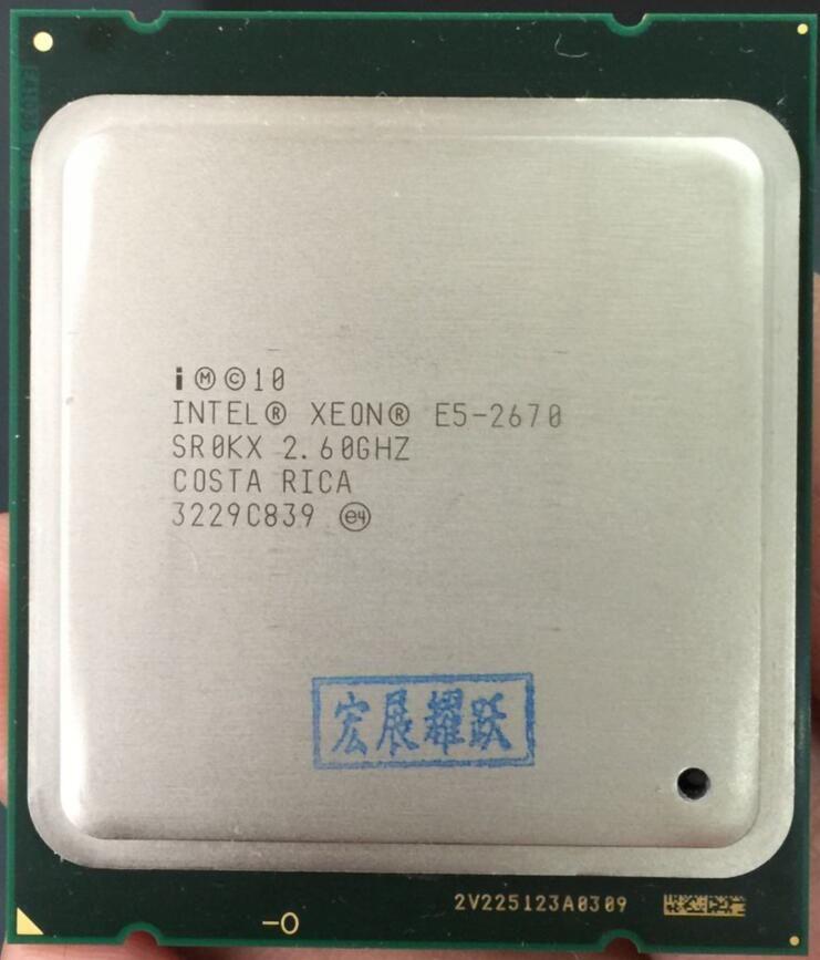 Intel Xeon Processor E5 2670 E5-2670 CPU (20M Cache, 2.60 GHz, 8.00 GT/s IntelQPI) GA 2011 SROKX C2 AliExpress Standard Shipping
