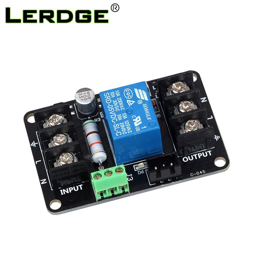 Le Module de surveillance de puissance de l'imprimante 3D de LERDGE a continué à jouer l'impression a automatiquement mis hors Module de gestion pour le panneau de Lerdge