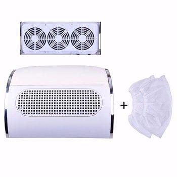 Biutee манкюрная вытяжка пылесос для маникюра с 3 вентиляторами 2 мешками для пыли набор для маникюра ногтей дизайн
