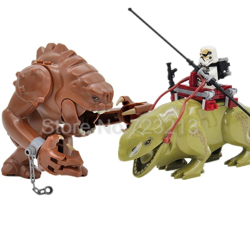 Rancor Star Wars Block Single Sale figure Building Blocks Starwars Set Models Cartoon Toys For Children Dewback