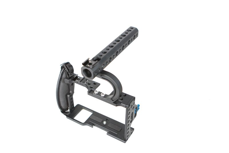 F16935 Professionelle Schutz Gehäuse Fall Top Griff Grip Robuste Rig Käfig Combo Kit für A7S2 A7R2 A7 A7II Serie Kamera