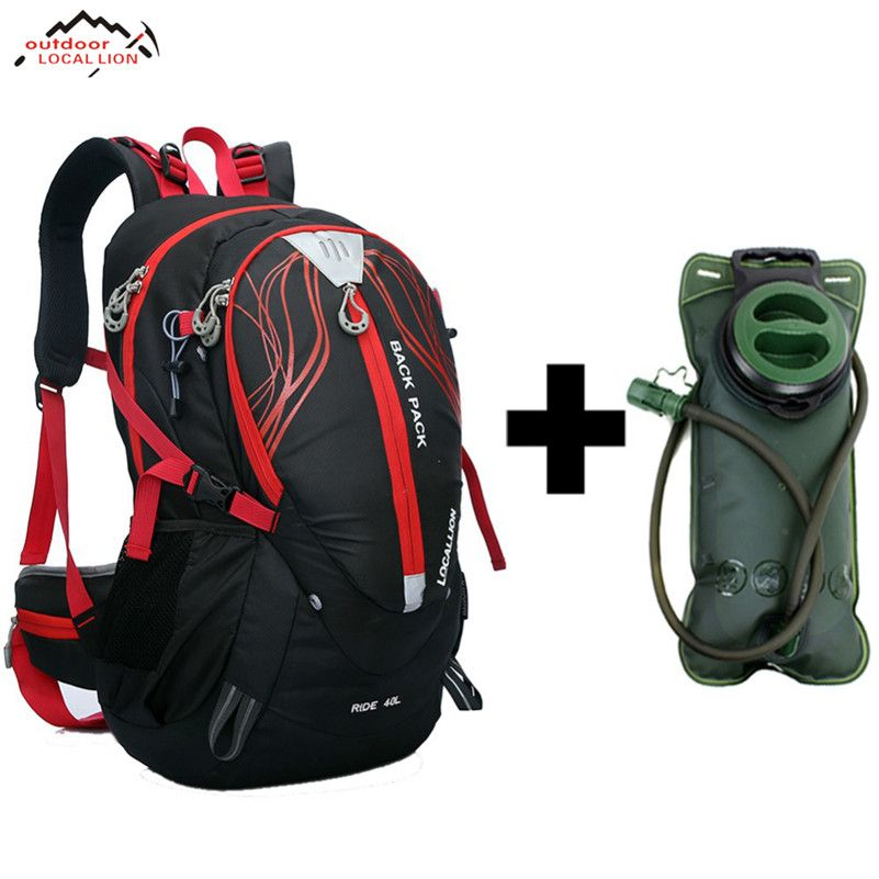 LOCAL LION 40L Stent System Cycling Bag Waterproof Bike Shoulder Backpack Sport Outdoor Hydration Bicycle Cycling Water Bag