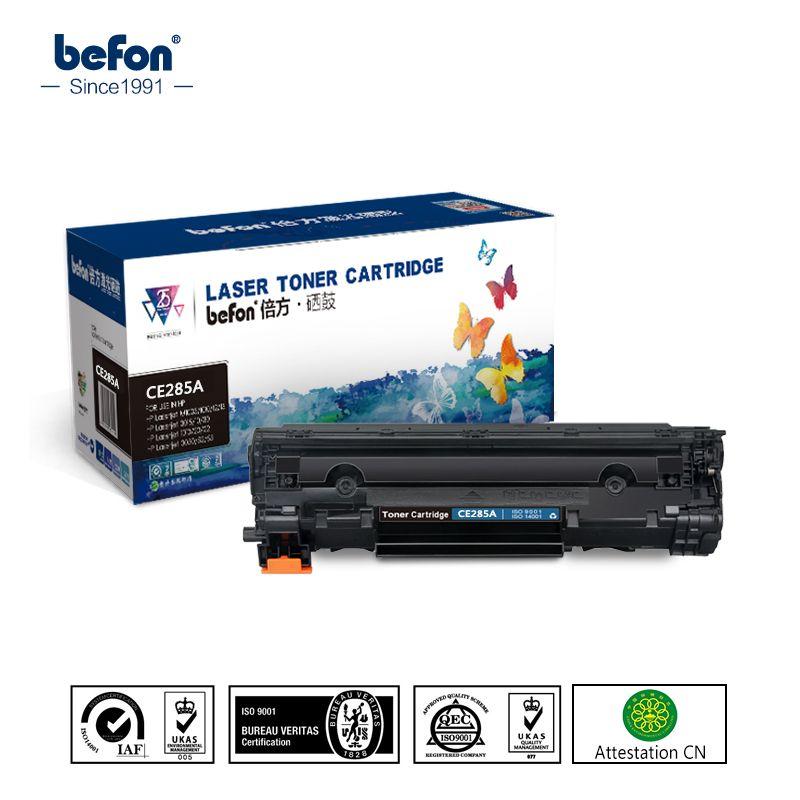 Befon Compatible 285A Cartouche De Toner de Remplacement pour HP CE285A 85a P1102 P1102W laserjet pro M1130 M1132 M1134 M1212 mf 3010