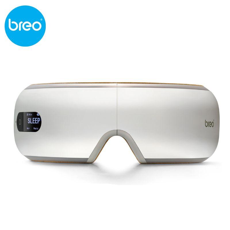 KIKI Schönheit welt. Neue stil. Breo isee4.Air druck massagebrille mit mp3, auge magnetischen fernen infrarot heizung. augenpflege. isee 4