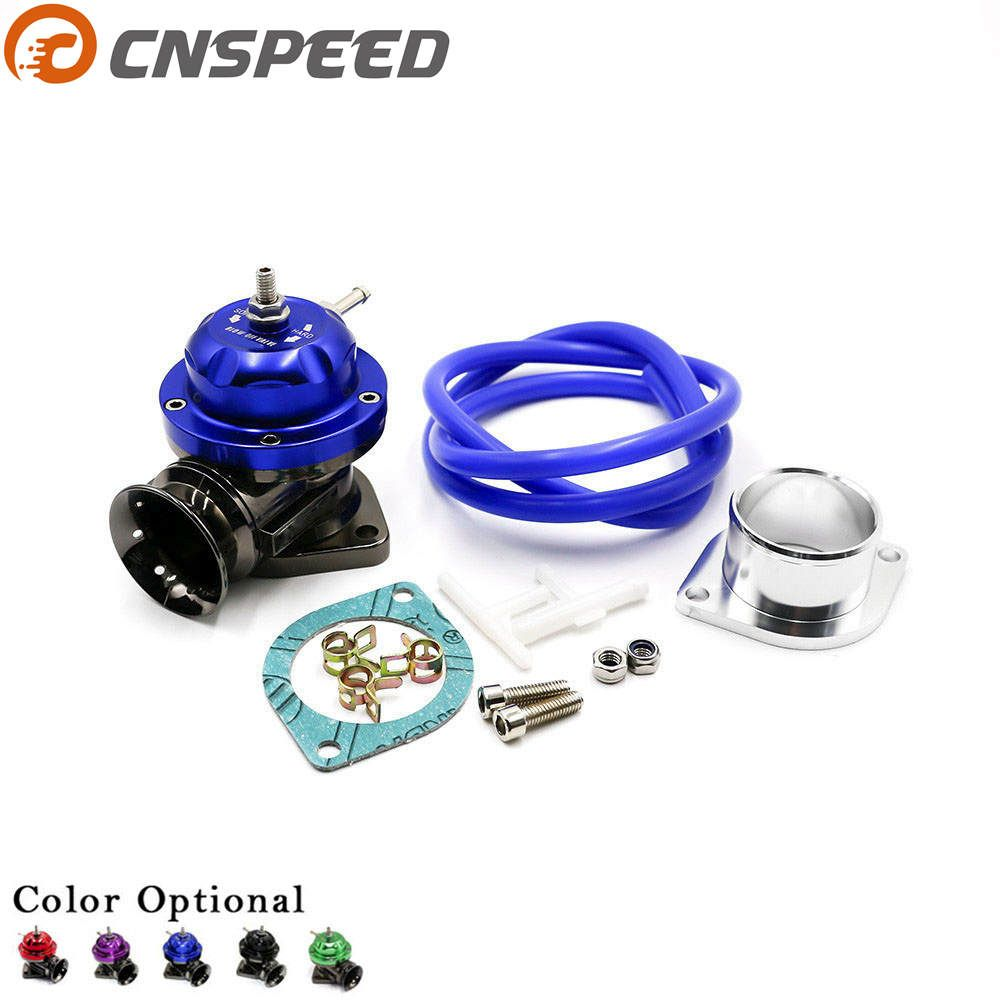 CNSPEED Universal Type-RS Turbo Blow off Valve Adjustable 25psi BOV Blow dump/Blow off adaptor YC100370