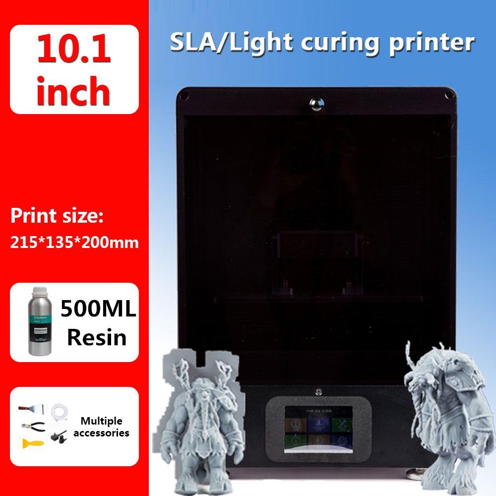 IGRARK Neue SLA/DLP/LCD 3D Drucker DIY Mit Große Druck Größe 216*135*200 MM hohe Präzision Impresora 405nm UV Harz 3d Drucker