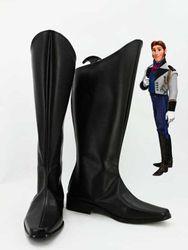 Anna Pangeran Hans Cosplay Sepatu Boots Pria Cosplay Costume Party Custom Made Sepatu