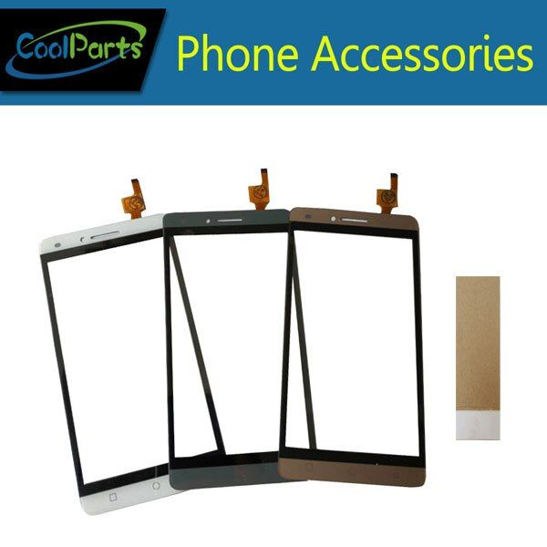1PC/Lot For Ark Benefit S502 Touch Screen Digitizer Panel Lens Glass Replacement Part With Tool&Tape Black Grey Gold Color