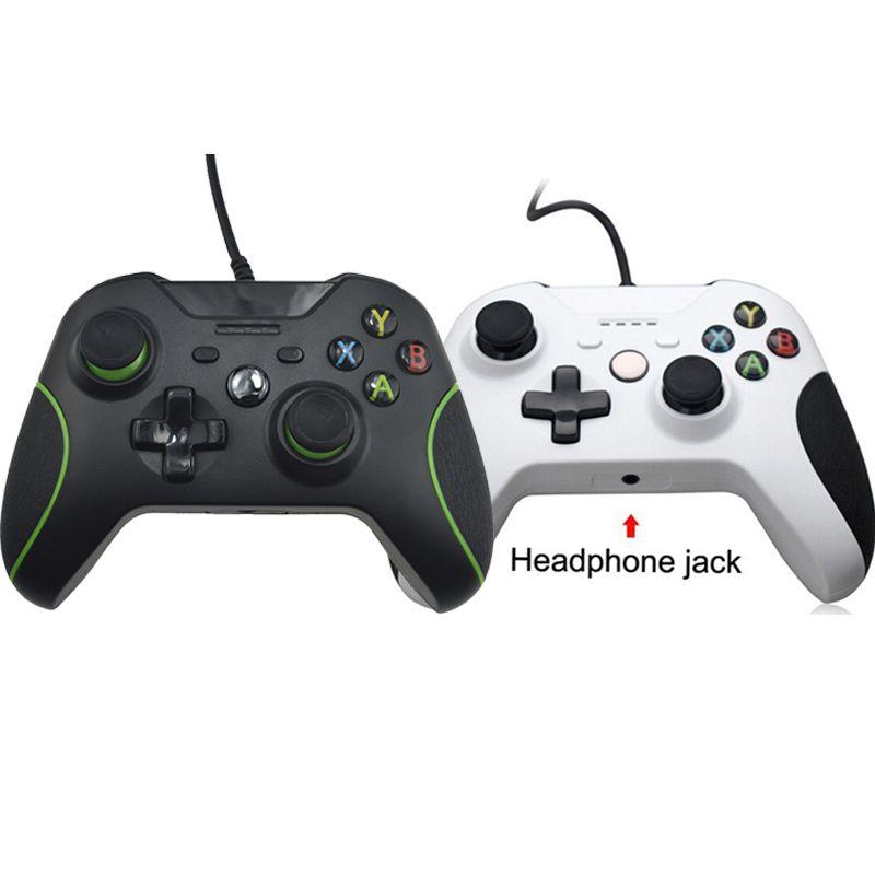 USB Filaire Contrôleur Pour Xbox Un Jeu Vidéo JoyStick Mando Pour Microsoft Xbox Un Mince Gamepad Controle Joypad Pour Windows PC