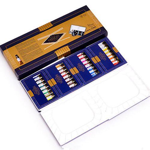 Mijello Misson series gold class 24color/7ml 34color/15ml  36color/5ml high concentration watercolor paints pure natural
