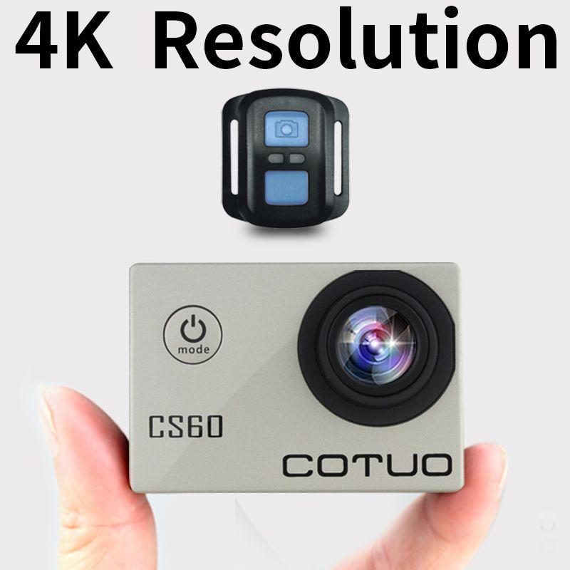 COTUO CS60 Action kamera Ultra HD 4 Karat/30fps WiFi 2,0