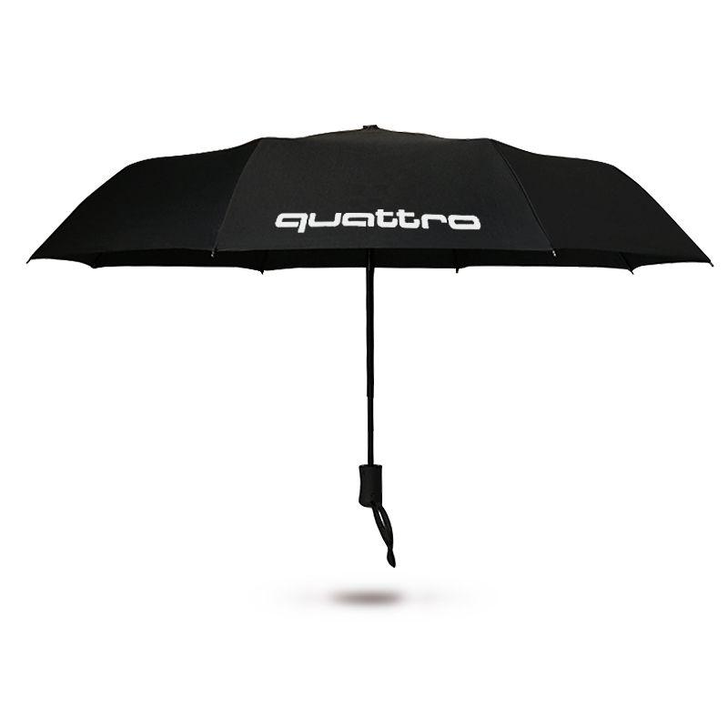 Automatic 3 Fold Umbrella Luxury For Audi A3 A4 B5 B6 B7 B8 A6 C5 A5 Q3 Q5 Q7 80 TT A1 A2 100 A7 A8 Sline S3 S4 Quattro R8 RS