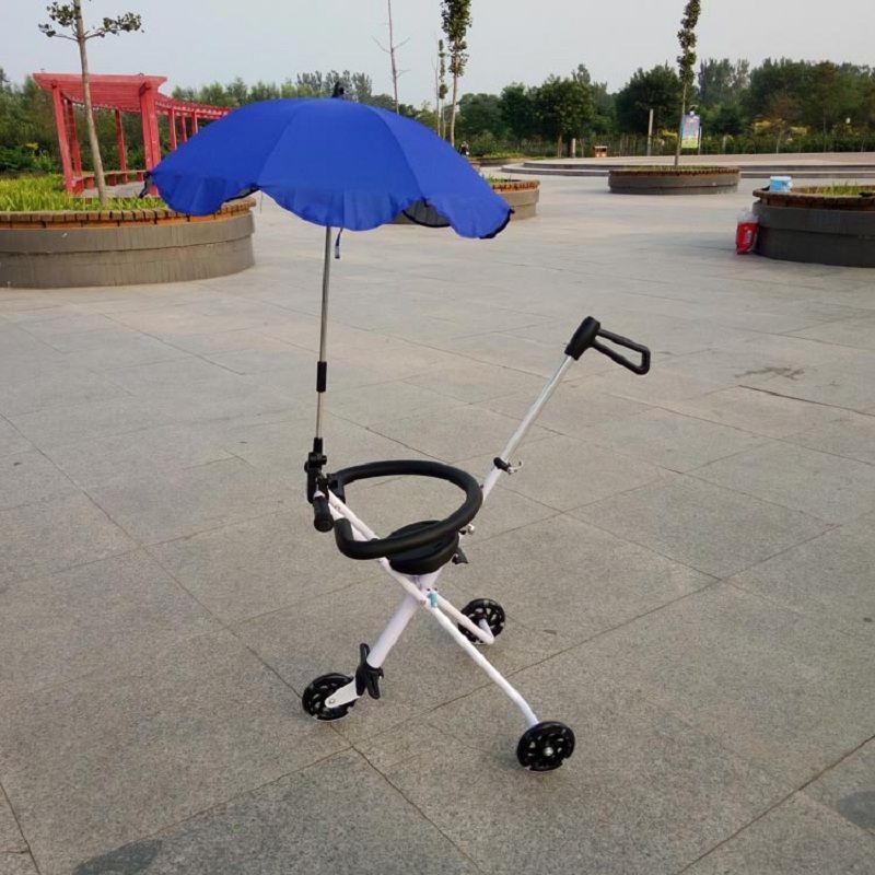 Bicicleta Infantil New Children Sneak Eva Artifact Folded Skate That Portable Three Rounds Of Flash Cart The Doll For A Walk