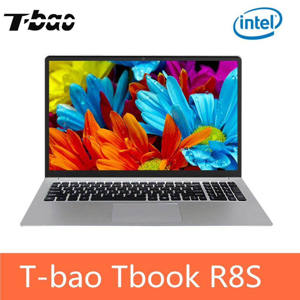 T-bao Tbook R8S Laptop Notebook PC 15.6'' Windows 10 Intel Celeron N3450 Quad Core 1.1GHz 6GB 128GB SSD HDMI Camera PK T-bao R8