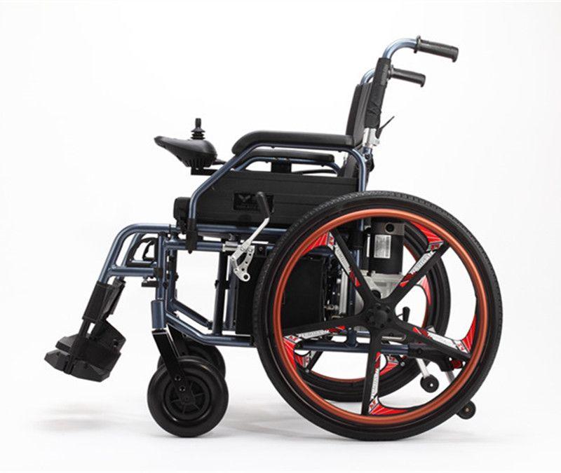 Krankenhaus Home Behinderte Leichte, Tragbare Klapp Elektrische Leistung Rollstuhl