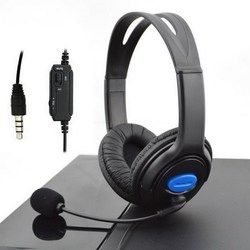 3.5mm Wired Gaming Headsets Headphones with Mic for PS4 Sony PlayStation 4