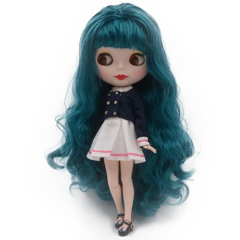 Nude Doll Similar To Blyth BJD doll, Customized Polish Dolls Can Change Makeup and Dress by DIY, 12 Inch Ball Jointed Dolls 0