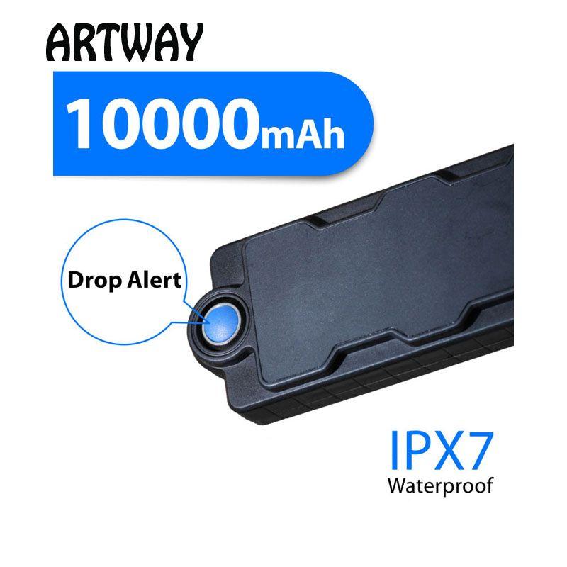 TK10SE Magnet GPS Tracker car 10000mAh Big Battery Vehicle Assets Boat Anti theft Drop Alarm gps Tracker gsm locator