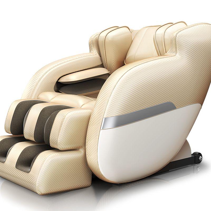 4D Neue Smart Automatische Hause Elektrische Massage Stuhl Full Body Hals Fuß Kneten Shiatsu Gesundheit Pflege Multifunktions Massager