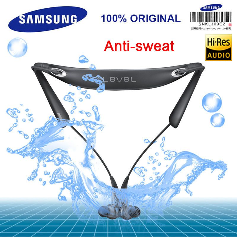 SAMSUNG Original Level U PRO Wireless Bluetooth headsets Collar Noise Cancelling Support A2DP,HSP,HFP for Glaxy 8 S8plus
