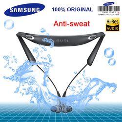 Samsung Asli Tingkat U Pro Nirkabel Bluetooth Headset Kerah Kebisingan Cancelling Dukungan A2DP, HSP, HFP untuk Glaxy 8 S8plus