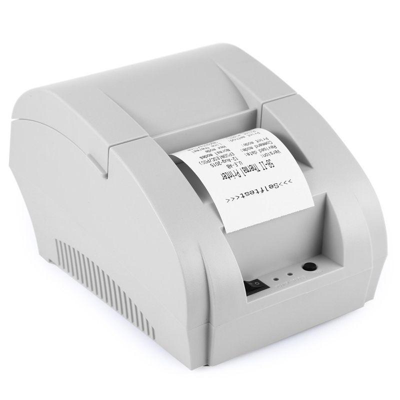 Original 5890 karat Thermodrucker ZJ-5890K Pos Drucker Thermobondrucker Ticket POS Usb-schnittstelle Restaurant Rechnung zahlung