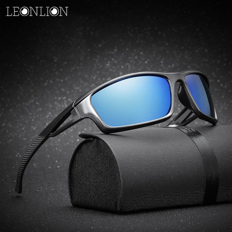 LeonLion 2017 Polarisierte Oculos De Sol Masculino Marke Designer Klassische Vintage Freien Fahren Männer Sonnenbrille UV400 Sonnenbrille