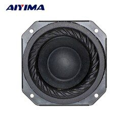 Aiyima 2PCS 3 inch 6Ohm 20W Huge Neodymium Full Range Speaker Rubber Edge For SONY