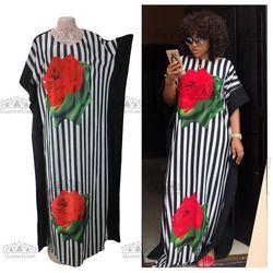 2017 Baru Fashion Super Ukuran Afrika Longgar Panjang Dashiki Pakaian Tradisional untuk Wanita (Cpdh #)