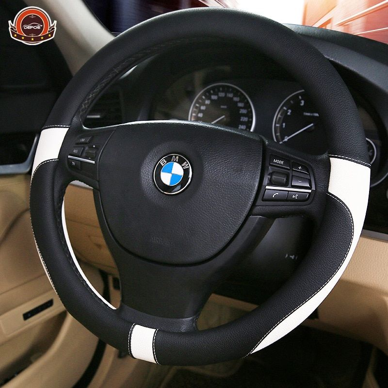 2018 Sport Leather car steering wheel cover car-styling Environmental <font><b>protection</b></font> Not smelly Diameter 38 cm 4 color freeshipping