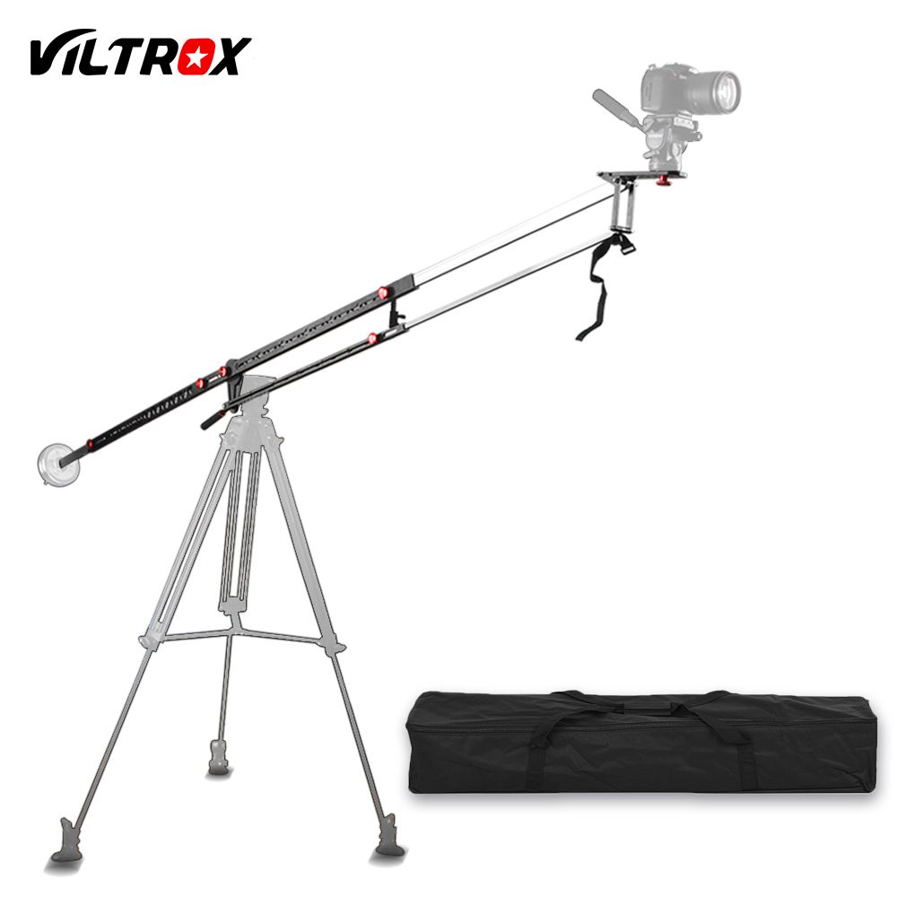 Viltrox YB-3M 3m Professional Extendable Aluminum Alloy Strong Camera Video Crane Jib Arm P+Bag for Canon Nikon Sony DSLR