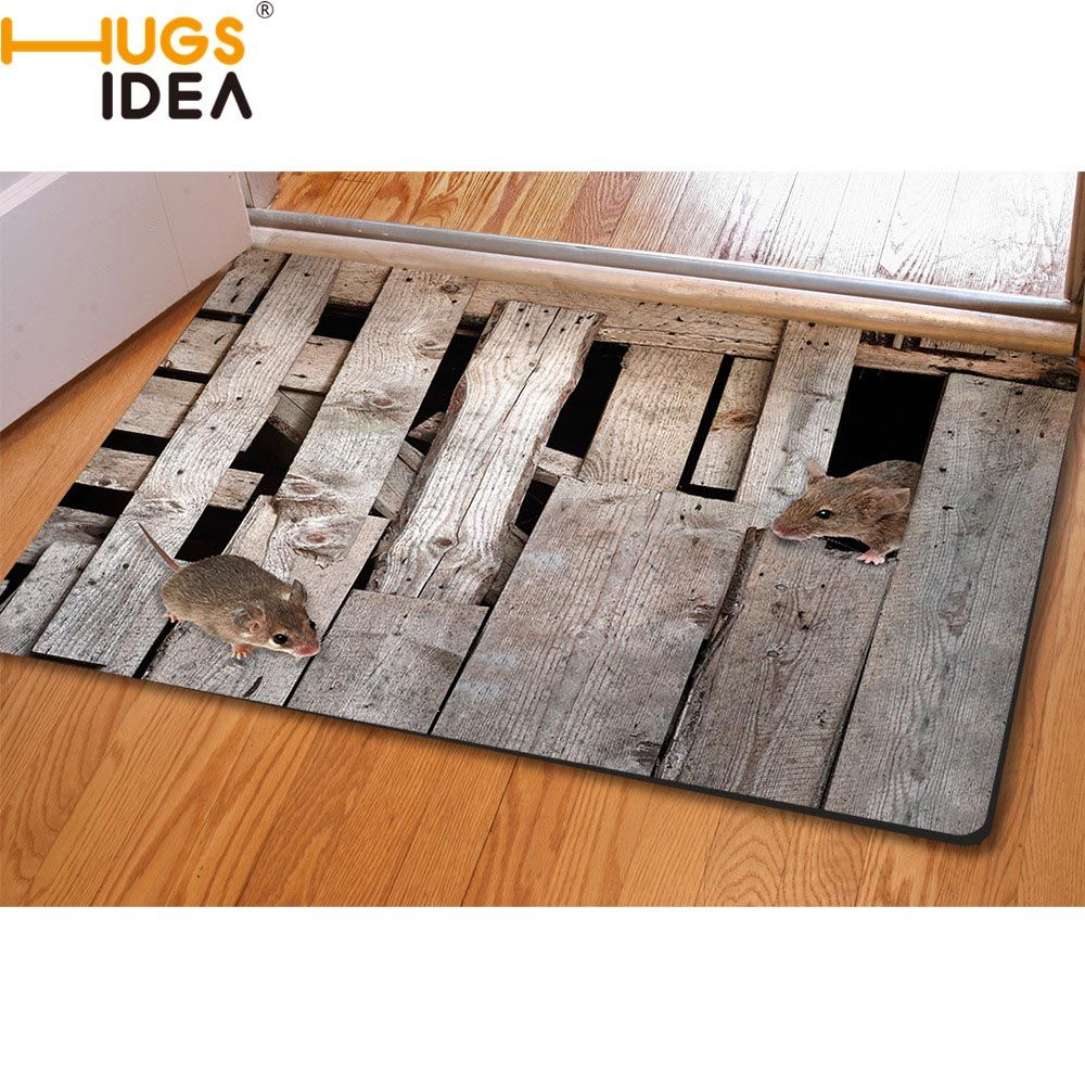 HUGSIDEA 3D Creative Home Carpets Non-slip Kitchen Tapetes Rugs Para Casa Sala for Home Living Room Carpet Alfombras Tapis Salon