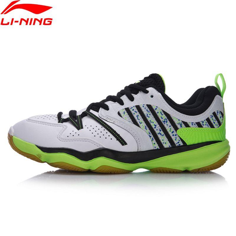 Li-Ning Männer RANGER Täglichen Badminton Training Schuhe Atmungsaktive Turnschuhe Tragen-Widerstand Futter Sport Schuhe AYTM081 XYY051