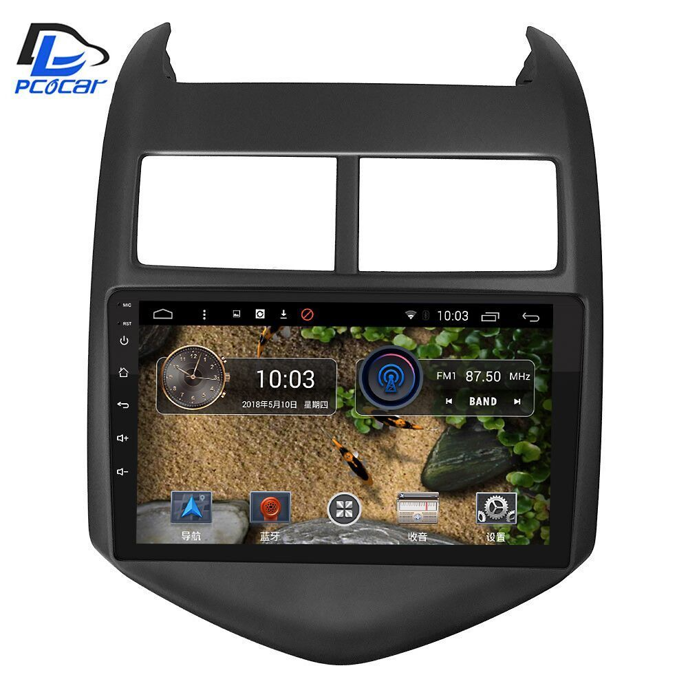 3G/4G net navigation dvd android 6.0 system stereo For Chevrolet aveo sonic 2011-2013 years car gps multimedia player radio