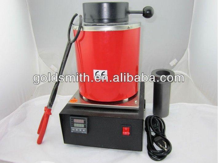220v ~2kg heating melting furnace ,gold, copper, silver, aluminum, iron, steel ,melting furnace