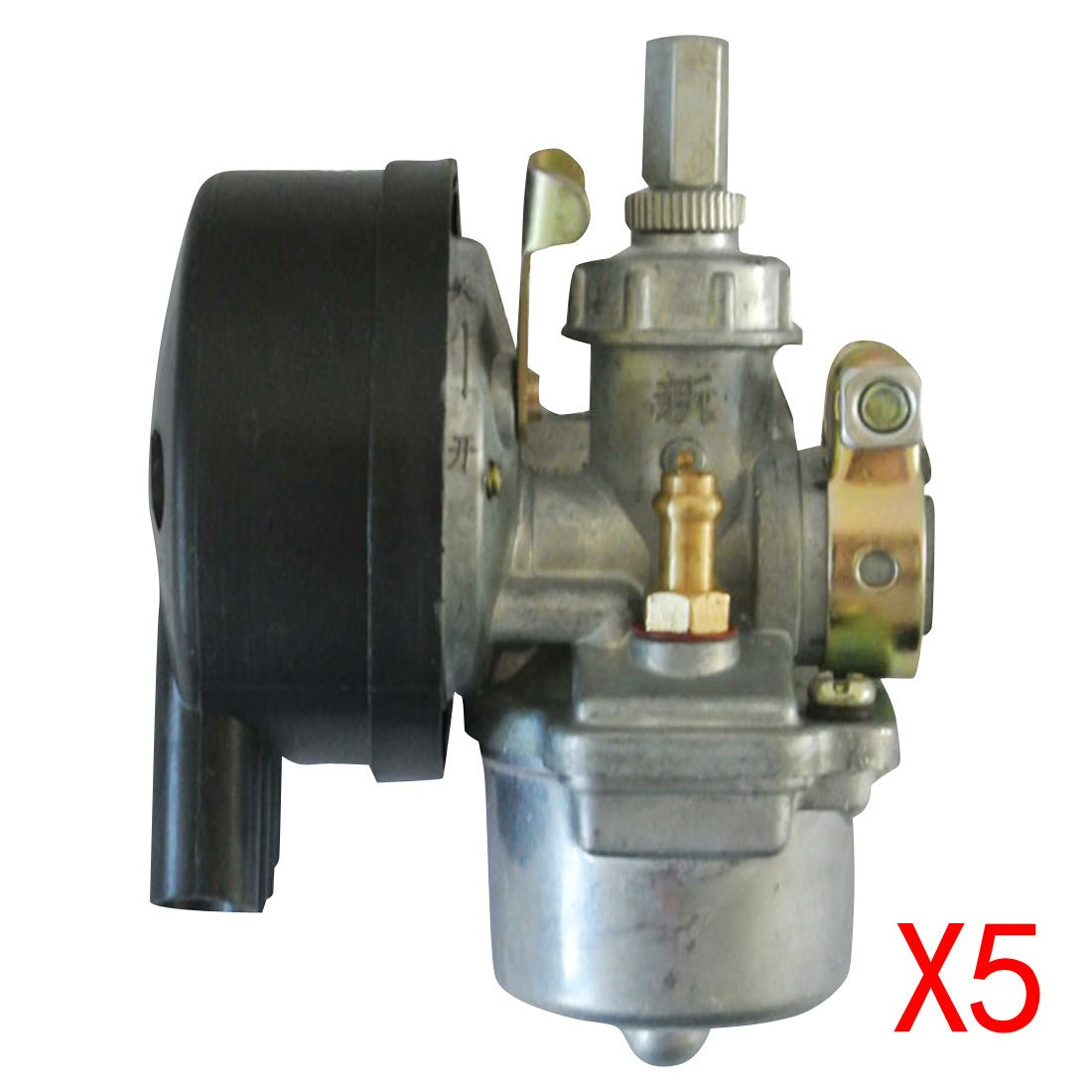 5* Black Carburetor For 49 60 66 80cc 2 Stroke Engine Motorized Bicycle Scooter