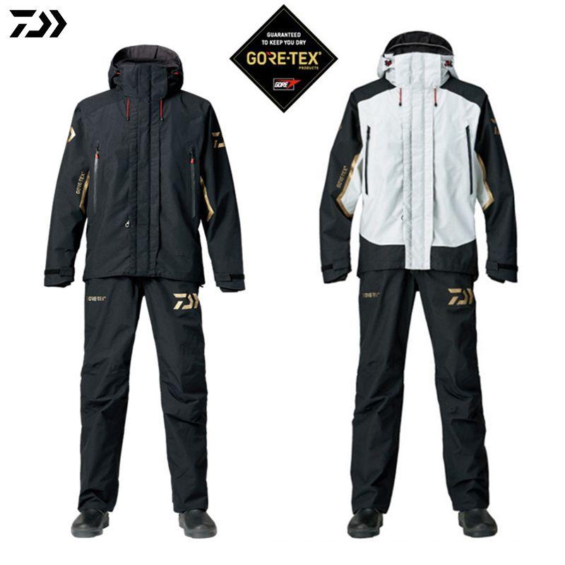 DAIWA DAWA 2018 Fishing Jacket and Pants Parka Spring Autumn Outdoors Ultrathin Monolayer Waterproof Windproof Fishing Suit