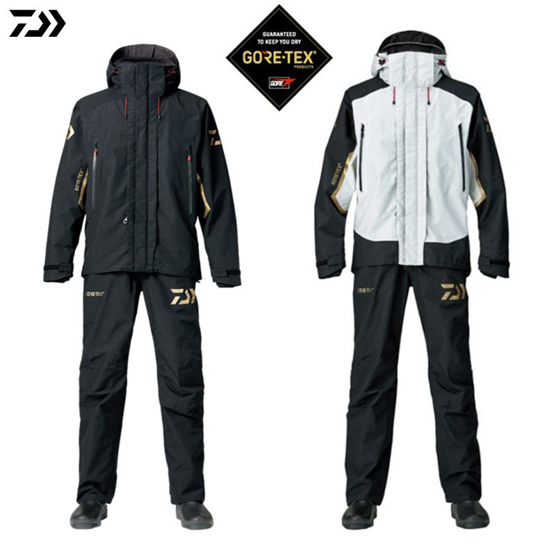 DAIWA DAWA 2018 Fishing Jacket and Pants Parka Spring Autumn Outdoors Ultrathin Monolayer Waterproof Windproof Fishing Suit