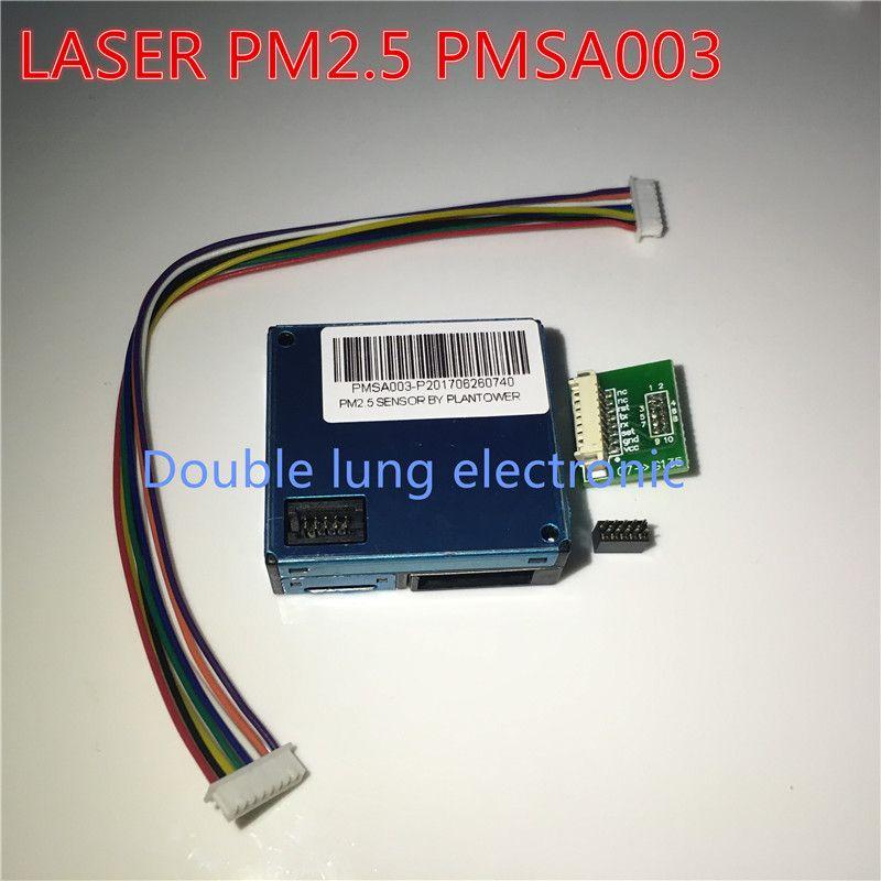 Capteur de poussière Laser PLANTOWER PM2.5 PMSA003 capteur de concentration de poussière laser de haute précision particules de poussière numériques A003 PMS A003