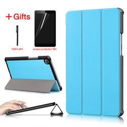 PU funda de cuero para Huawei MediaPad M5 8,4 pulgadas SHT-AL09 SHT-W09 Tablet funda protectora funda para Huawei MediaPad M5 8,4 caso